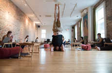 Meditative Co-Working Studios - Flow Yoga Center Offers a Unique Take on the Co-Working Space