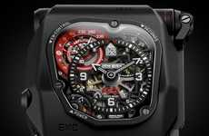 Precise Mechanical Watches - The EMC Time Hunter Watch Allows For Accurate Chronometric Control