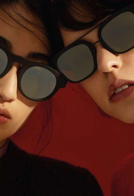 Posh Matte Sunglasses