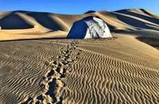 Heat-Reducing Tents - The 'No Bake Tent' Shields Campers from Sun, Wind and Sand