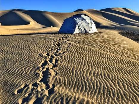 Heat-Reducing Tents