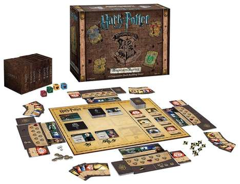 Cooperative Wizard Board Games - The Harry Potter Hogwarts Battle Deck Building Game is Magical
