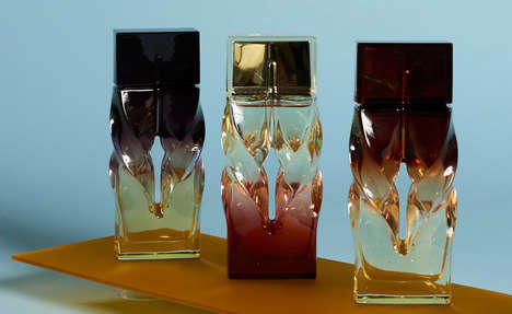 Sculptural Perfume Bottles - A Luxury Footwear Brand is Branching Out into the Fragrance Industry