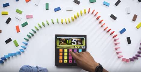 Musical Candy Packaging - Hershey's TAKE5 Remixer is an Interactive Candy Bar That Makes Beats