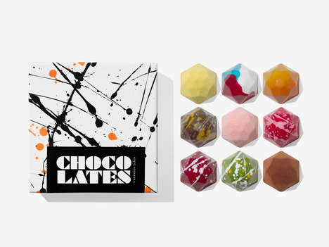 Artistic Chocolate Shops - Toronto's Chocolates x Brandon Olsen Serves Up Colorful Hand-Made Bonbons