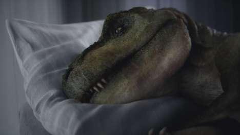 Depressed Dinosaur Auto Ads