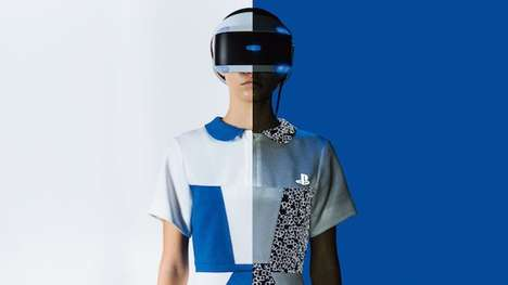 Light-Activated Gaming Uniforms - Playstation Unveiled Special VR Uniforms at the Tokyo Game Show