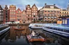 Self-Propelling Cargo Boats - The 'Roboat' Program Will Put Autonomous Boats in Amsterdam's Canals