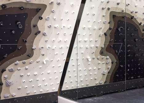 Upscale Hotel Climbing Walls