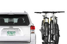 Accessibility-Ensuring Bike Racks - The RockyMounts MonoRail Platform Rack Swings Away from the Rear
