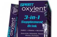 Comprehensive Energy Drinks - The Sport Oxylent Supplement Drink Augments Stamina and Recuperation