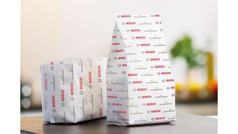 All-Paper Packaging Systems - Bosch Introduced a Sustainable Paper Packaging System for Dry Foods