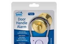 Vibration-Sensing Door Alarms