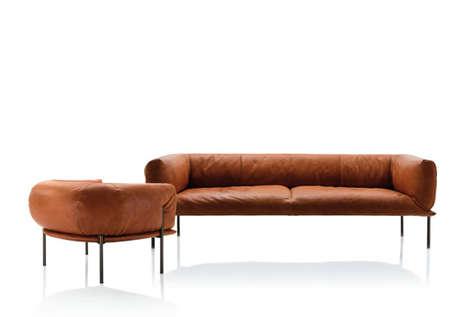 Punching Bag-Inspired Furniture