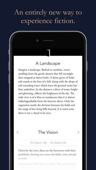 Intricate App-Based Novels