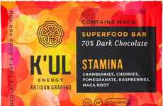 Artisanal Energy Chocolates - K'UL Prescribes Dark Superfood Chocolate for Energy