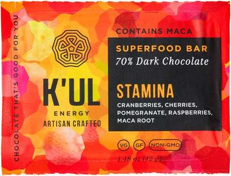 Artisanal Energy Chocolates