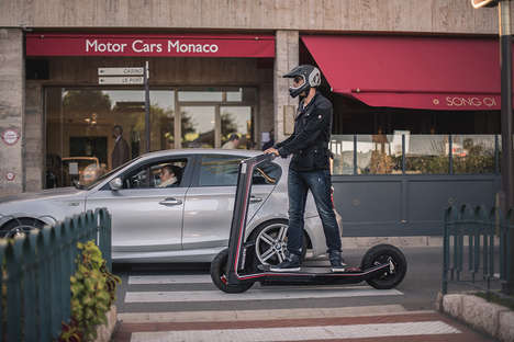 Luxury Two-Person Scooters
