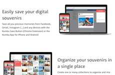 Social Media Backup Apps - 'Kumbu' Enables Users to Save Photos and Organize Memories