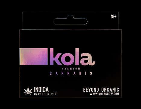 Boxed Cannabis Capsules