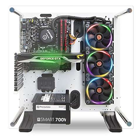 Illuminated Liquid-Cooled Computers