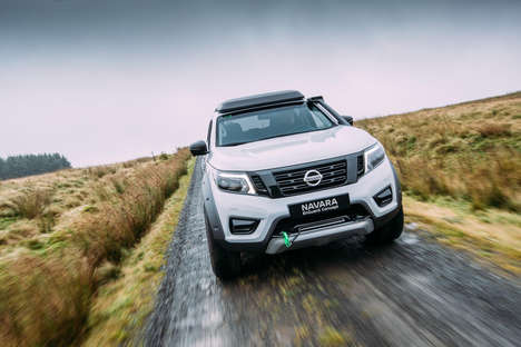 Rugged Rescue Vehicles - Nissan's Navara EnGuard Concept Packs a Portable Battery Pack