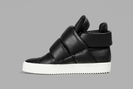 Luxe Rapper-Inspired Sneakers - Kid Cudi Influenced These Italian Leather Giuseppe Zanotti Sneakers