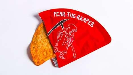 Fiery Single-Serving Chips