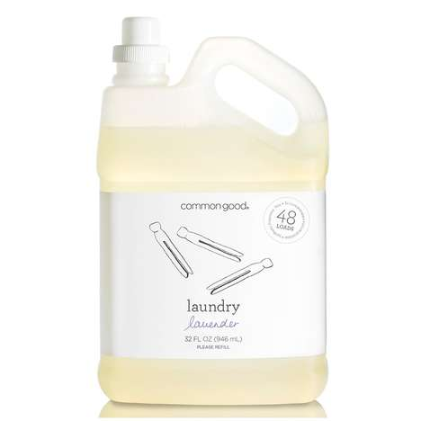 Aromatherapy Laundry Soaps - The Common Good Laundry Lavender Suds Cleans With Essential Oils