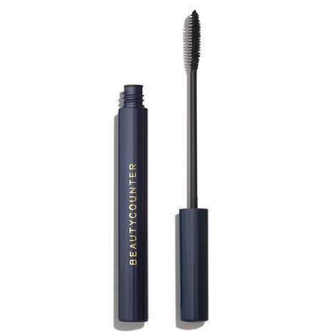 Organic Oil Mascaras - The BeautyCounter Lengthening Mascara is Made With Seed and Shea Butter