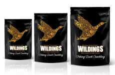 Upscale Fowl Snack Branding - The Wilding's Duck Crackling High-Quality Snacks are Rich in Protein