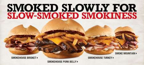 Smoky Pork Belly Sandwiches - Arby's is Now Offering Sandwiches Made with Hickory Smoked Pork Belly