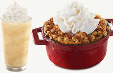 Fast Food Apple Crumbles - Arby's is Serving Up Delicious Apple Crisp and Pumpkin Shakes On-Demand