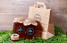 Rustic Simplified Honey Branding