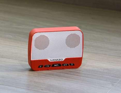 Versatile Mobile Device Speakers