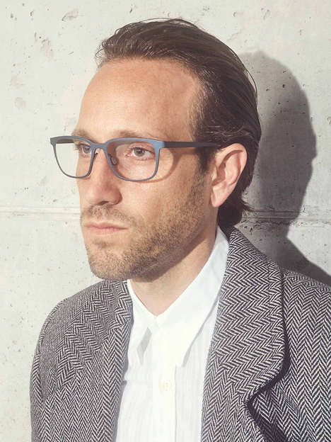 Function-Focused Eyewear Editorials