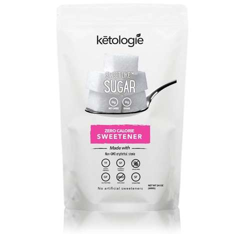 Ketogenic Stevia Sweeteners - Ketologie's 'Sweet Like Sugar' is a Zero-Calorie Sugar Replacement
