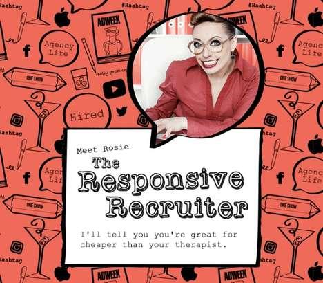 Satirical Job Recruiter Bots