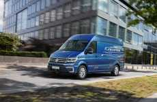 Powerful Electric Vans - The Volkswagen e-Crafter is Designed For City Delivery Operations