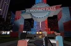 Political VR Plazas - NBC News' Virtual Reality 'Democracy Plaza' Shows Debates and More