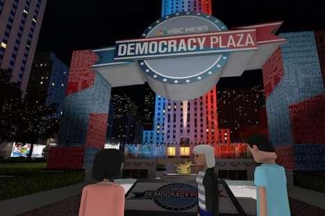 Political VR Plazas