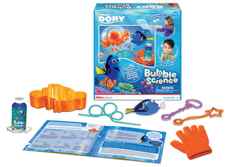 Bubble Experiment Kits - Wonder Forge's Science Kit for Kids is a Finding Dory-Themed STEM Toy