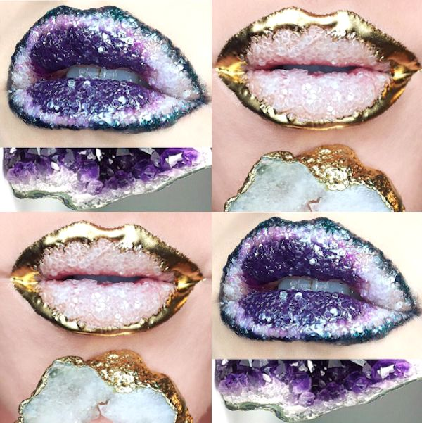 Crystalized Lip Looks