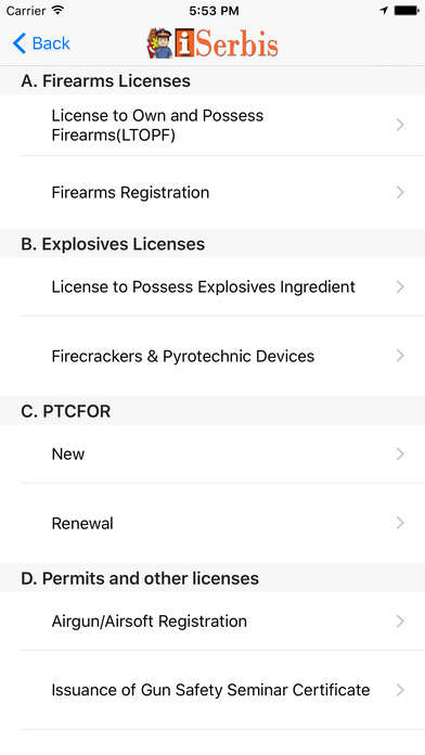 Informative Police Apps
