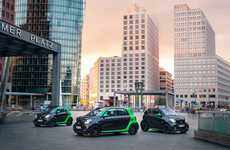 Miniature Electric City Cars - The Smart Electric Drive Vehicles Pack Up to 160km of Driving Range