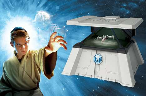 Mind-Controlled Hologram Toys - The Force Trainer II Lets Kids Re-Enact Famous Jedi Challenges