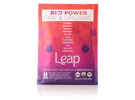 Powdered Smoothie Flavorings - Leap Smoothies are Able to Make a Diverse Range of Breakfasts