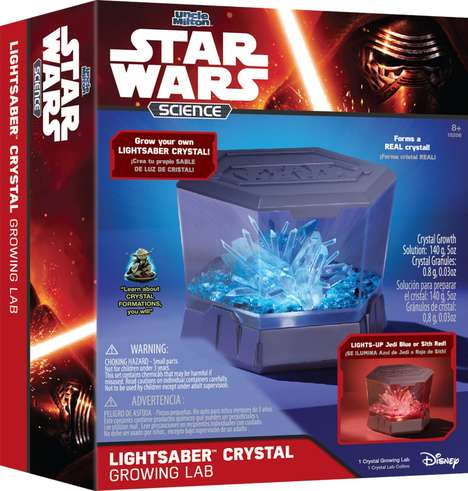 Crystal Growing Kits - The Lightsaber Crystal Growing Lab Allows Kids to Create Real Crystals