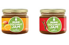 Exotic Organic Coconut Jams