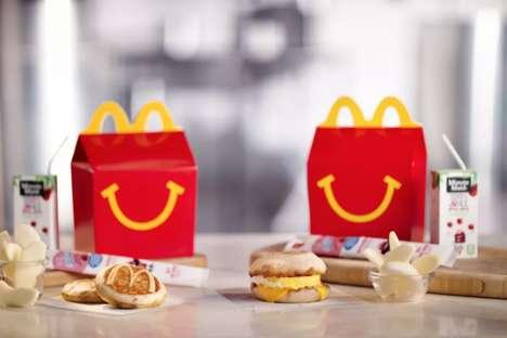 Kid-Friendly Fast Food Breakfasts